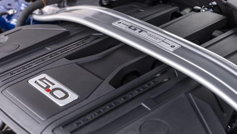 La speciale California è dotata di un motore V8 da 5,0 litri.