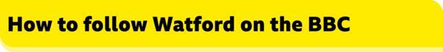 Come seguire Watford sul banner della BBC